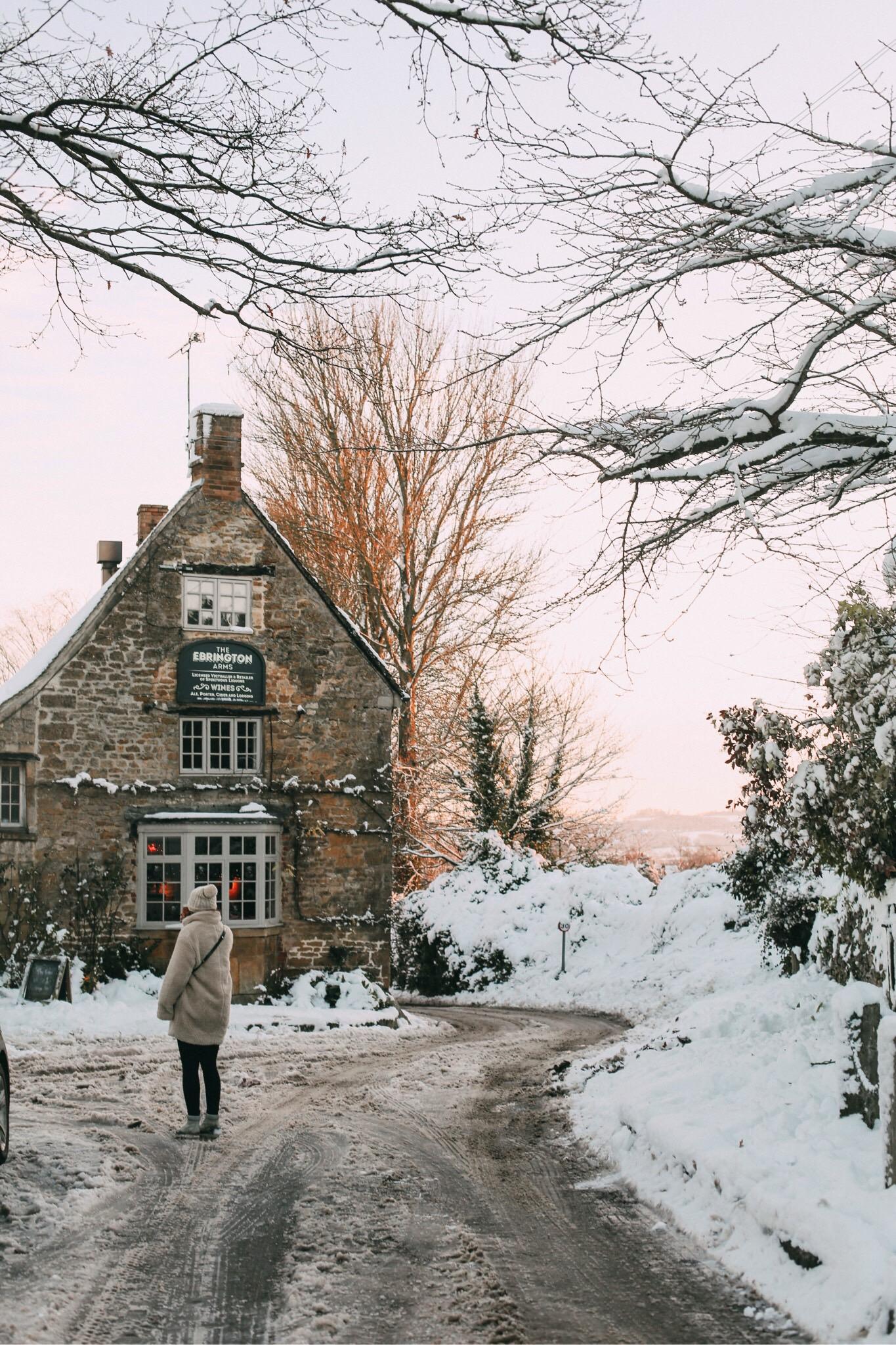 Cotswolds Worktrip im Winter