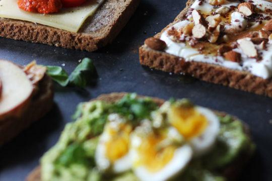 Brotzeit | Daily Malina | Eine Scheibe Brot