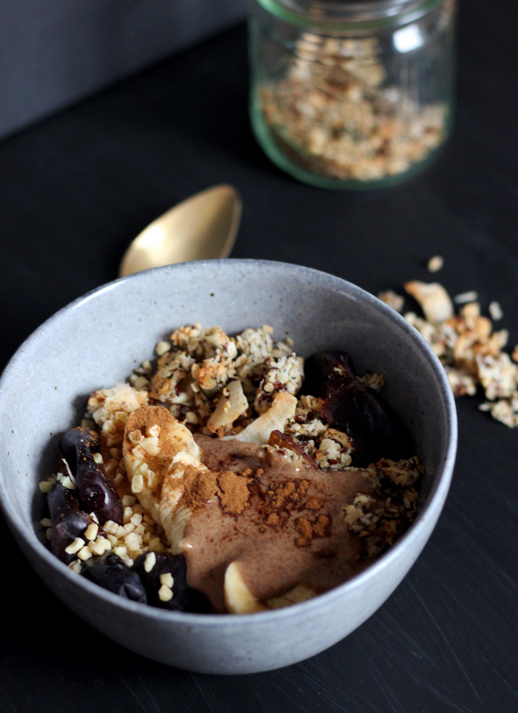 Schokoporridge | Gesund frühstücken | Daily Malina