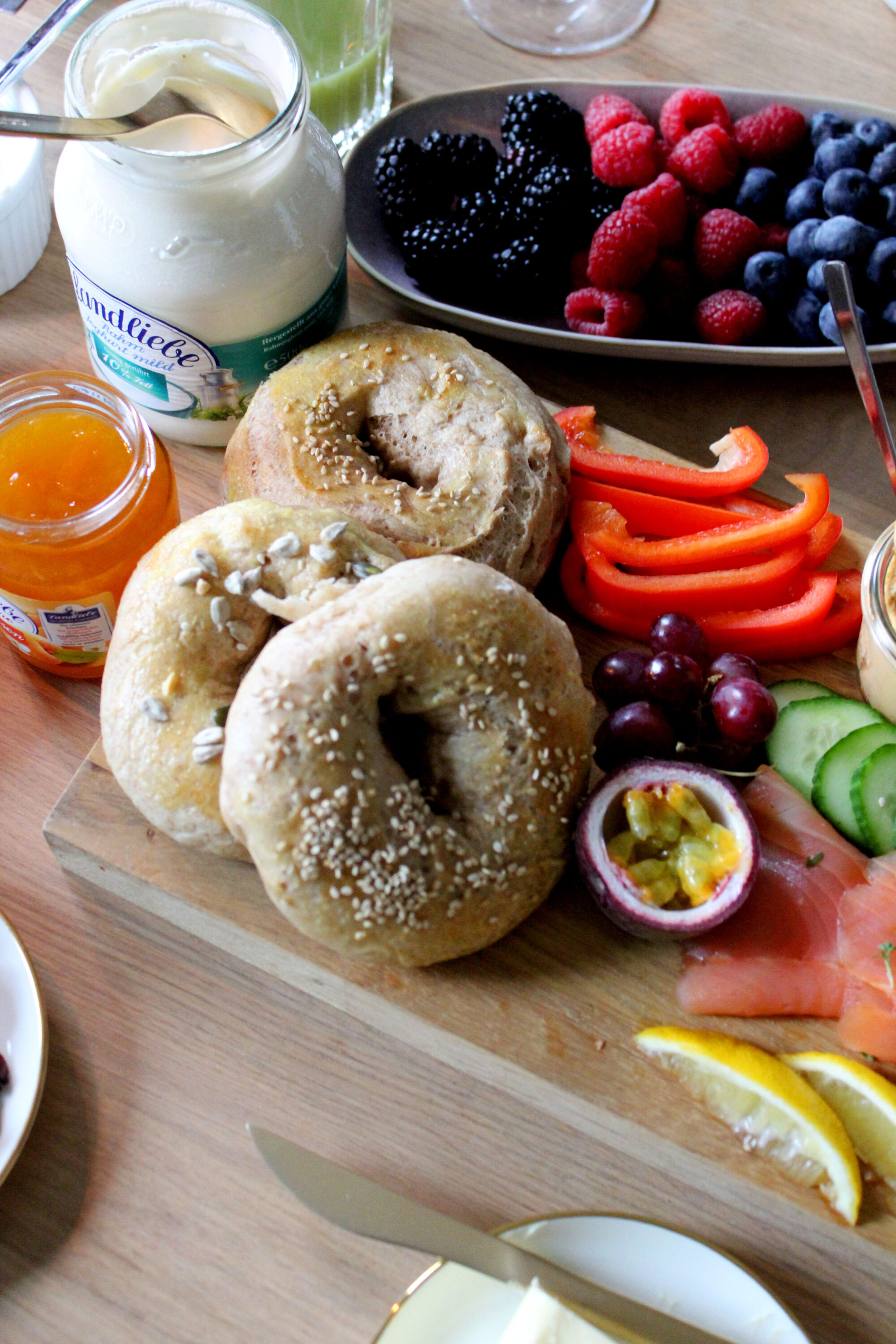 Adventsbrunch | Rezept für Bagels | Daily Malina